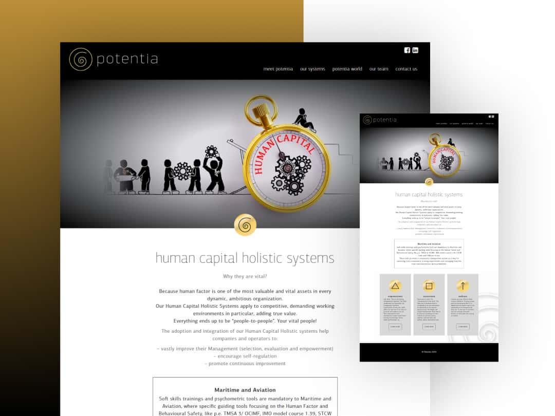Κατασκευή ιστοσελίδων potentia.gr